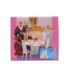 barbie dining room set barbie dining room set dining room designs
