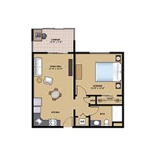 1 bedroom floor plan retirement apartments in doylestown pa community at rockhill