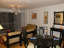 Small Apartment Dining Room Ideas Small Apartment Dining Room Black White Striped Fabric Chairs Both