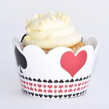 Cupcake Decorating Party Amazon Com Poker Party Supplies Las Vegas Casino Cupcake