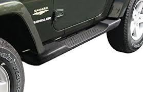 amazon com jeep wrangler side steps running boards molded mopar