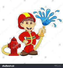 fireman cartoon stock illustration 721766824 shutterstock