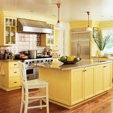 Yellow Kitchens With White Cabinets - yellow kitchen cabinets u2013 traditional kitchen design kitchen