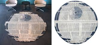 Pottery Barn Death Star Star Wars Area Rug Roselawnlutheran