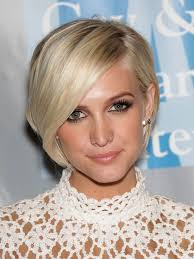 the blonde short hair woman on beverly hills housewives beautiful hairstyles for oval faces women s ashlee simpson
