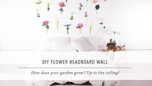 diy flower headboard wall bedroom u0026 home decor stop motion