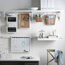 Office Wall Organizer Ideas Wall System Mount Williams Sonoma Regarding Calendar