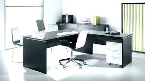 bureau noir et blanc bureau en angle bureaux bureaux duangle with bureau en