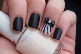 top 10 black nail designs yve style com