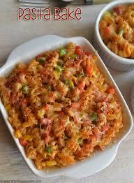 recipes with pasta baked pasta recipe fusilli pasta bake sharmis passions