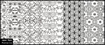 pattern from image photoshop japan style photoshop patterns brushlovers com