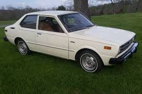 toyota corolla 1977 model low mile 5 speed 1977 toyota corolla bring a trailer