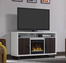 Tv Stands With Electric Fireplace 54 White Tv Entertainment Media Stand W Electric Fireplace