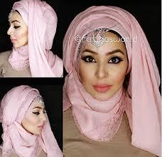 tutorial turban sederhana 3 party hijab styles hood effect and turban ish style by
