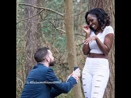 Interracial Relationship Memes - beautiful interracial marriage proposal and engagement shoot youtube