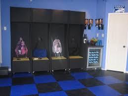 diy kids lockers before and after sports garage makeover garage makeover diy