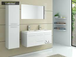 Meuble Salle De Bain Halo indogate com meuble salle de bain gris double vasque