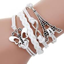 anchor bracelet charms images Multi layer leather charm bracelets for women more great finds jpg