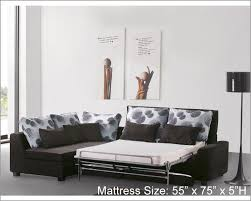Sleeper Sofa With Storage Chaise Best Modern Sectional Sleeper Sofa Large Leather Sectional Sleeper