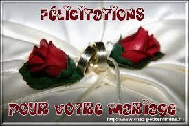 felicitations pour un mariage afficher le sujet mariage de jacky1406