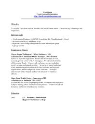 clerical resume templates clerical resume template free resume templates clerical resume