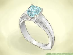 how to buy an engagement ring how to buy an engagement ring with pictures wikihow