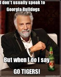 meme maker i dont usually speak to georgia bulldogs but when i do