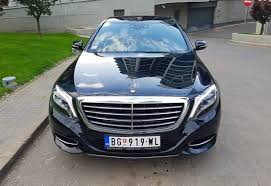 mercedes a class service exclusive limo service rent a car belgrade