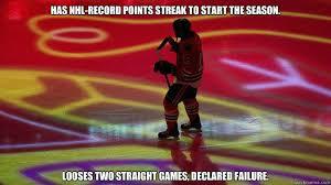 Blackhawks Meme - bad luck blackhawks memes quickmeme