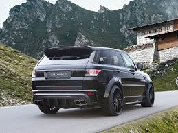 mansory cars mansory releases package for range rover sport