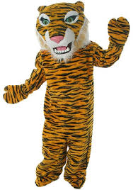 Halloween Costumes Rent Tiger Costume Mascot Rajah Rental Costume