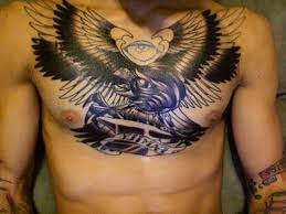 fashion buster chest tattoos