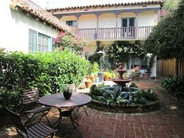 elegant mediterranean home with an interior garden 4486626