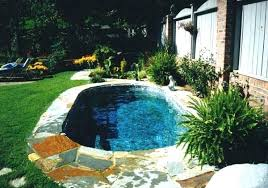 Inground Pool Landscaping Ideas Semi Inground Pool Design Ideas Inground Pool Designs Ideas