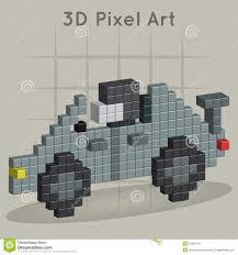 pixel art car race car 3d pixel art royalty free stock images image 37882709