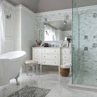 bahtroom white vanity stool for bathroom with cool walk in shower
