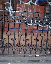 Rod Iron Home Decor Wrought Iron Fence Detail Yarn Theory
