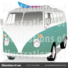 volkswagen hippie van clipart vw van clipart 44295 illustration by toonster