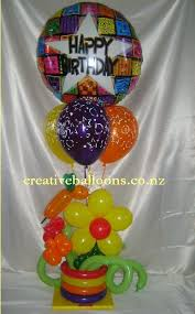 birthday balloon arrangements singing balloons