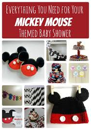 mickey mouse baby shower decorations mickey mouse baby shower