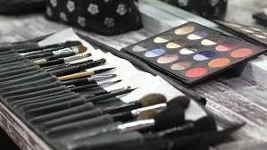 makeup artist equipment tv broadcasting equipment stock footage 3665960