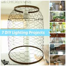 Diy Light Fixtures by 7 Diy Lighting Fixture Projects
