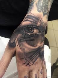 50 eye tattoos on