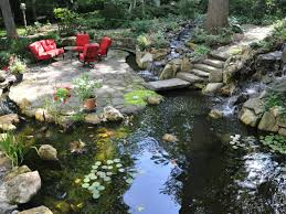 what size koi pond should i design for my yard turpin landscaping
