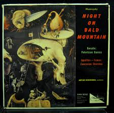 mussorgsky night on bald mountain by artur rodzinski lp with