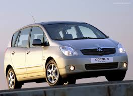 gallery of toyota corolla verso