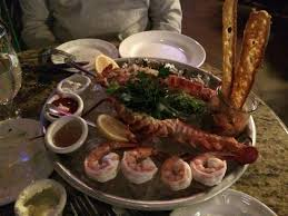 seafood platter mon ami in las vegas picture of mon ami gabi