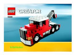 truck instructions instructions for 20008 1 tow truck bricks argz com