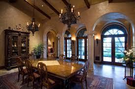 Mediterranean Dining Room Furniture Architecture Arch Entryway In Cozy Mediterranean Dining Room