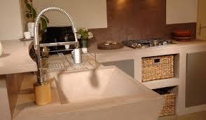 cuisine beton cire cuisine en bton cir great plan de travail cuisine en beton cire